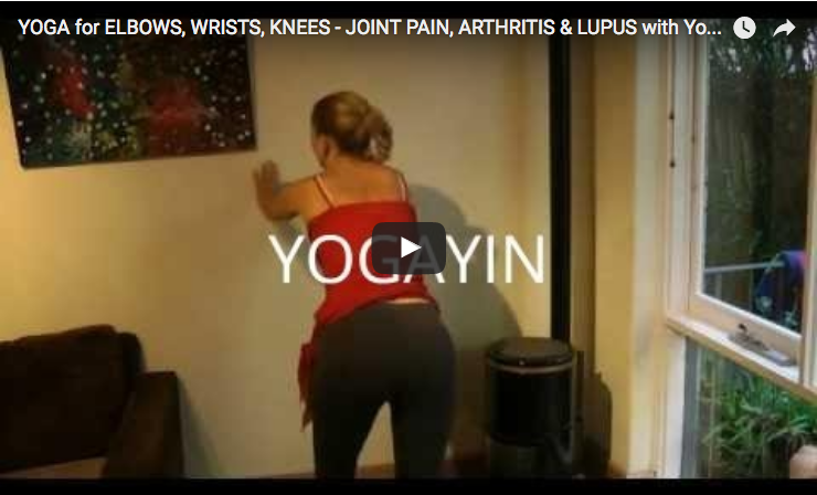 yoga lupus elbows