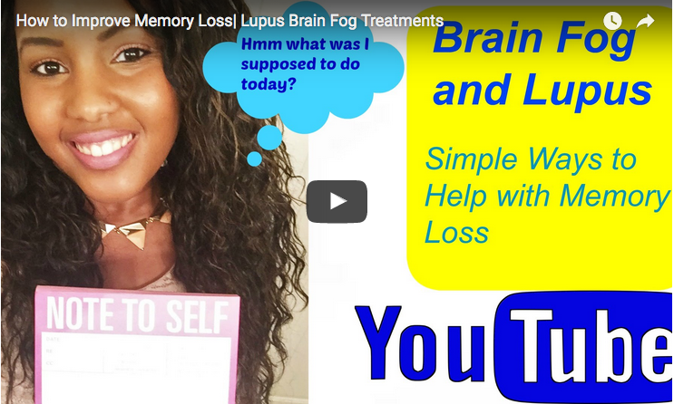 Lupus Patient Shares Her Tips on Improving Memory Loss - Lupus News