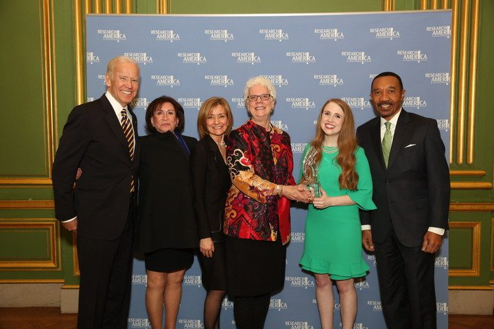LFA Receives Research!America's 2017 Advocacy Award for Lupus Programs